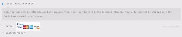 webshop fizetési módok