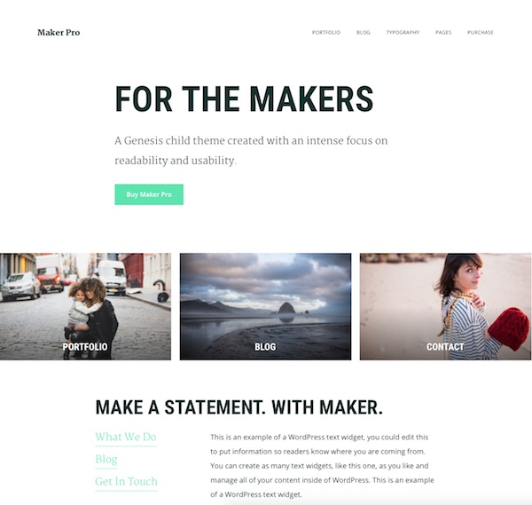 Makers web design