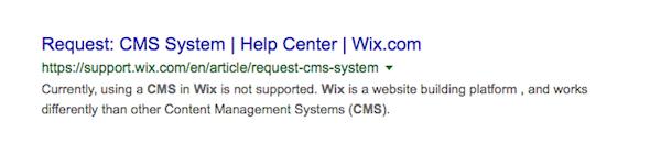 wix tartalomkezelő
